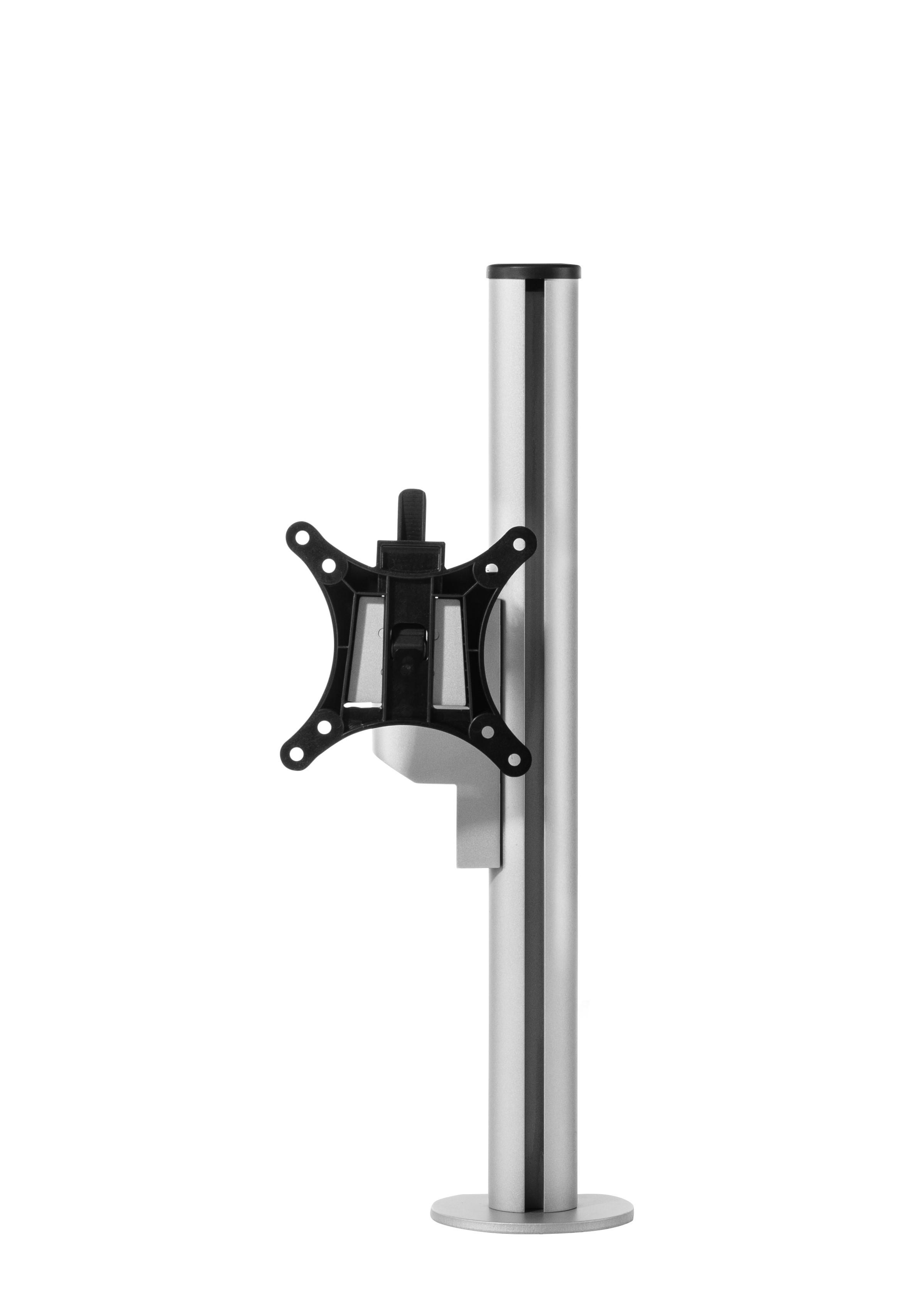 Galaxy Single Monitorarm Short - Silber