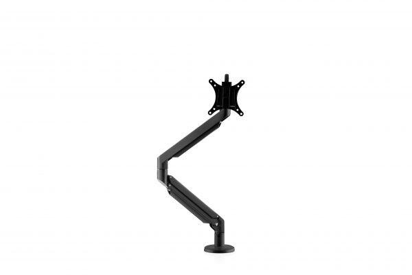 Galaxy Single Monitorarm Gasfeder- Schwarz