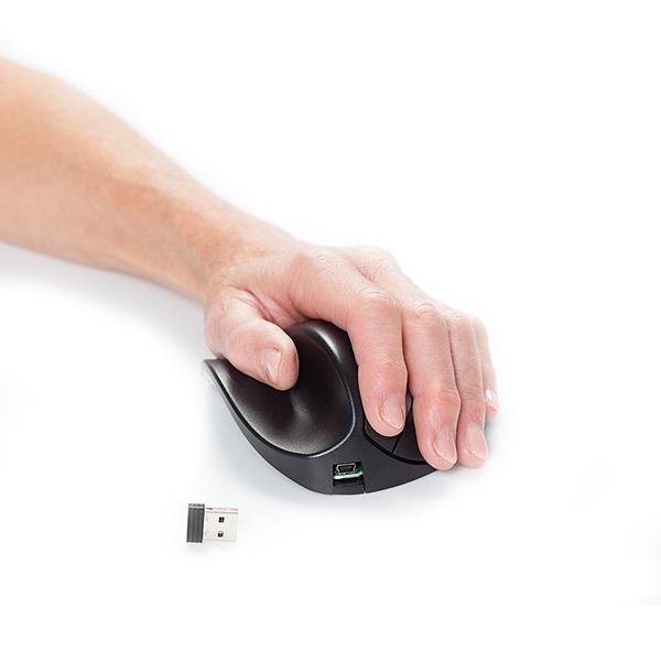 HandShoeMouse BRT LC Medium Links Wireless - ergonomische Maus