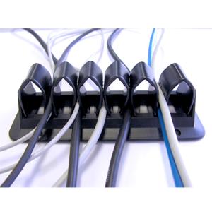 Kabelhalterung Schwarz