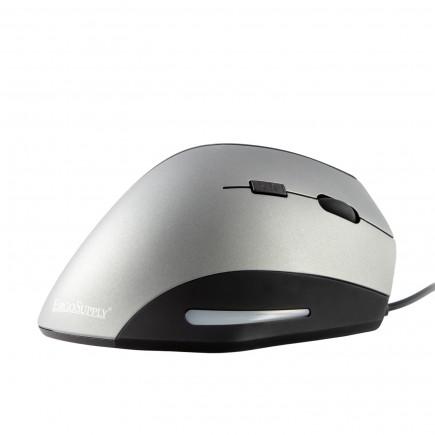 ErgoSupply SR300 Ergonomische Maus mit Kabel