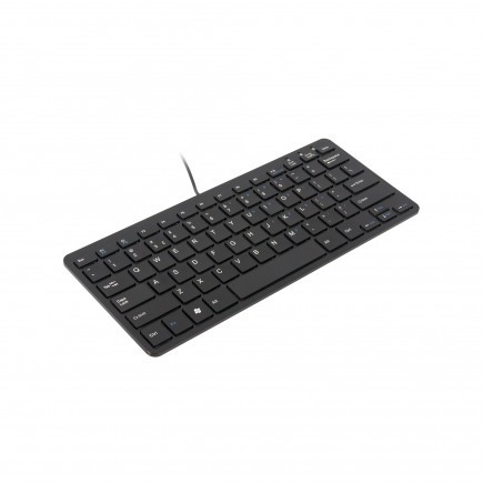 Ergo Compact Tastatur Schwarz QWERTZ - Mini Tastatur