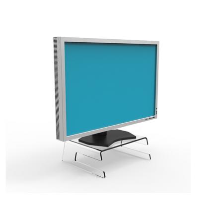 LCD Monitorständer Acryl (ErgoSupply)