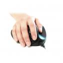 Hippus Handshoemouse BlueRay Light Click Medium - ergonomische Maus