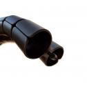 Kabelschlauch Schwarz 8-förmig - kabelmanagement