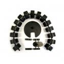 Kabelschlauch Schwarz Rund - kabelmanagement