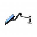 LX Desk Mount Silber - monitorarm
