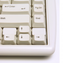 Q-board Ivory QWERTZ - Mini-Tastatur