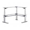 Steh-Sitz-Tisch Pro 2 L-Shape - sitz steh schreibtisch