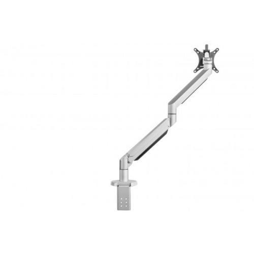 Galaxy Single Monitorarm Gasfeder- Silber