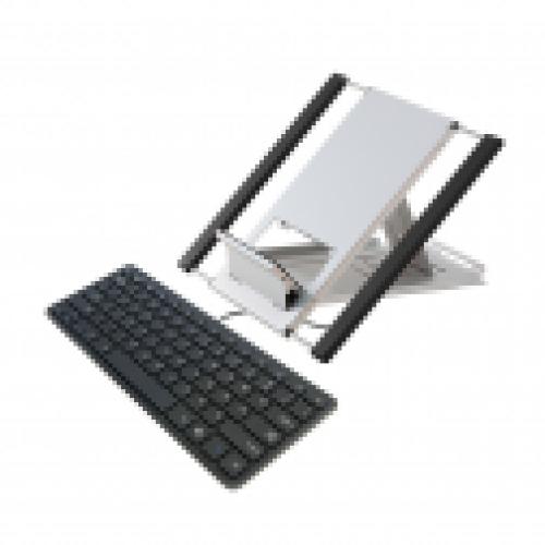 Laptopset Ergo Compact Traveler QWERTZ Schwarz