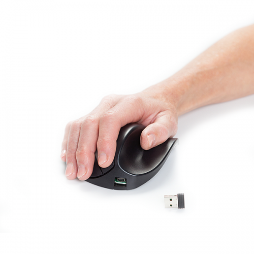 Handshoemouse BlueRay Light Click Wireless Large - ergonomische Maus