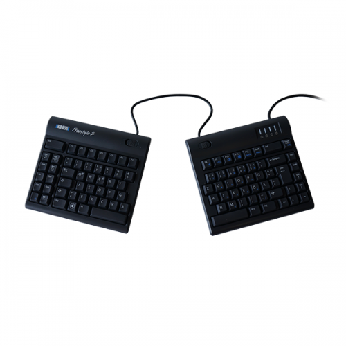 FreeStyle2 ergonomische Tastatur QWERTZ - ergonomische Tastatur