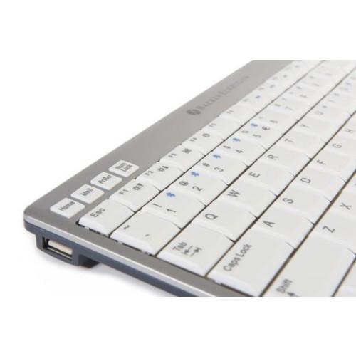 UltraBoard 940 Compact Keyboard QWERTZ (Bluetooth + Kabel)