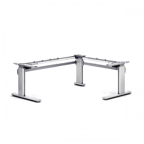 Steh-Sitz-Tisch Pro 2 L-Shape
