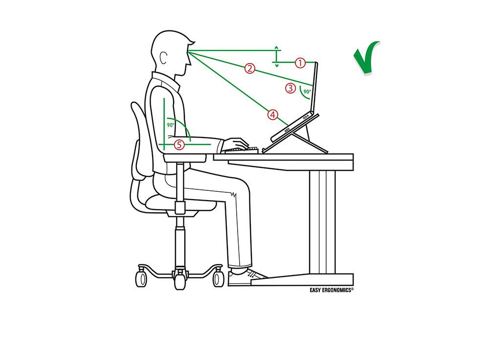 Der ergonomische Arbeitsplatz
